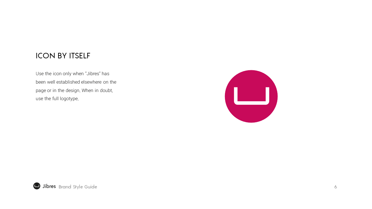 Jibres Logo Style Guide Page6
