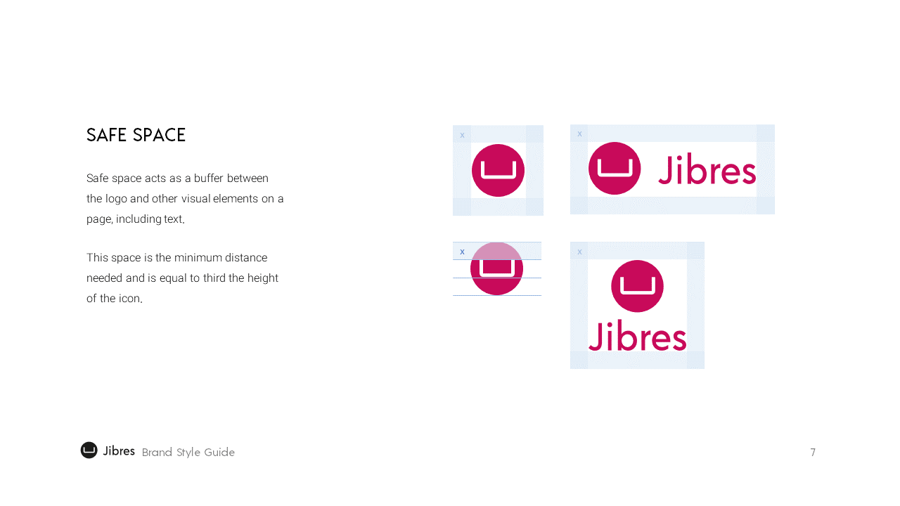 Jibres Logo Style Guide Page7